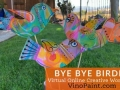 Bye Bye Birdie Mixed Media workshop (Virtual)