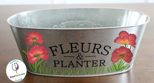 Poppy Herb Planter (Seasonal Project)