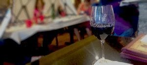 Tessoras wine glass paint and wine event