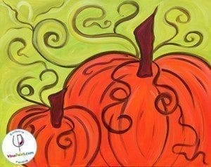 VinoPaint Exclusive - Pumpkin Harvest
