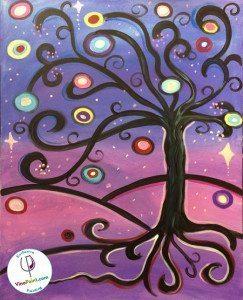 VinoPaint Starburst Tree