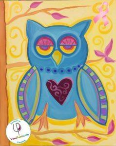 Paisley Owl - Avon Fundraiser