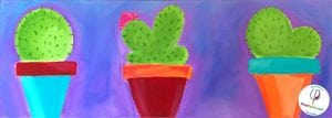VinoPaint Exclusive - Summer Cacti
