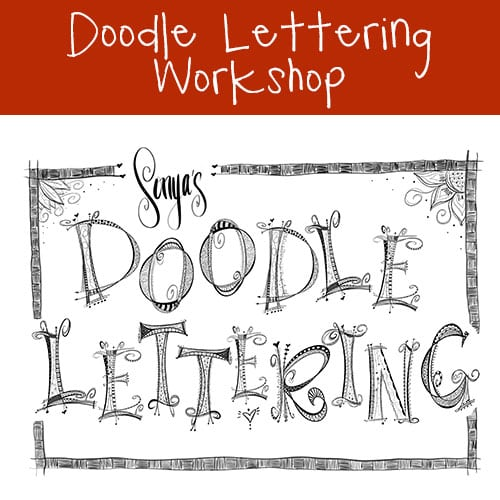 VinoPaint Exclusive - Doodle Lettering Workshop