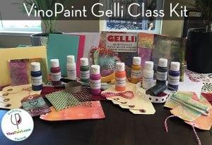 VinoPaint Exclusive - Gelli Class Kit