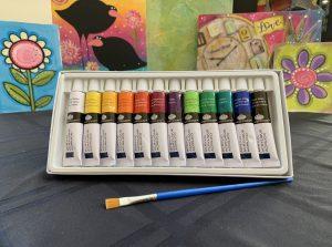 VinoPaint Exclusive - Personal 12 Color Acrylic Art Set