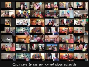 VinoPaint Virtual Events