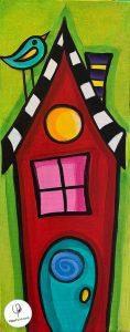 VinoPaint Virtual Creative Events - Home Sweet Home!