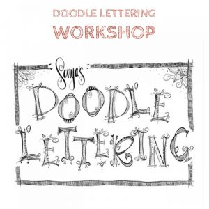VinoPaint Exclusive - Doodle Lettering Monogram Workshop